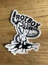 Rotbox Zombie Welder Vinyl Sticker