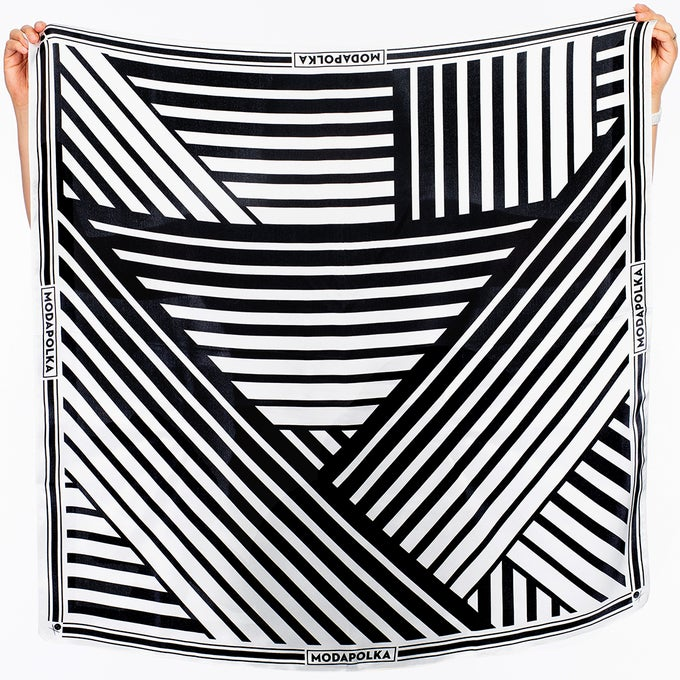 Image of DAZZLE Silk Scarf