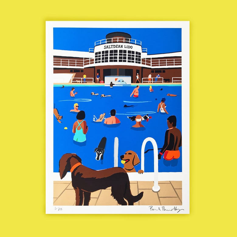 Image of Dog Day at Saltdean Lido