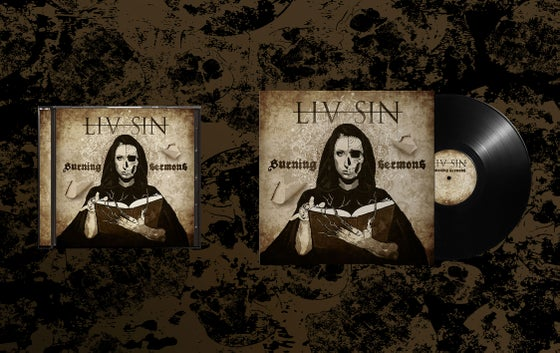 Image of Liv Sin - CD/Vinyl Burning Sermons (CD/Vinyl)