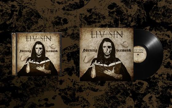 Image of Liv Sin - CD/Vinyl Burning Sermons (CD/Vinyl)