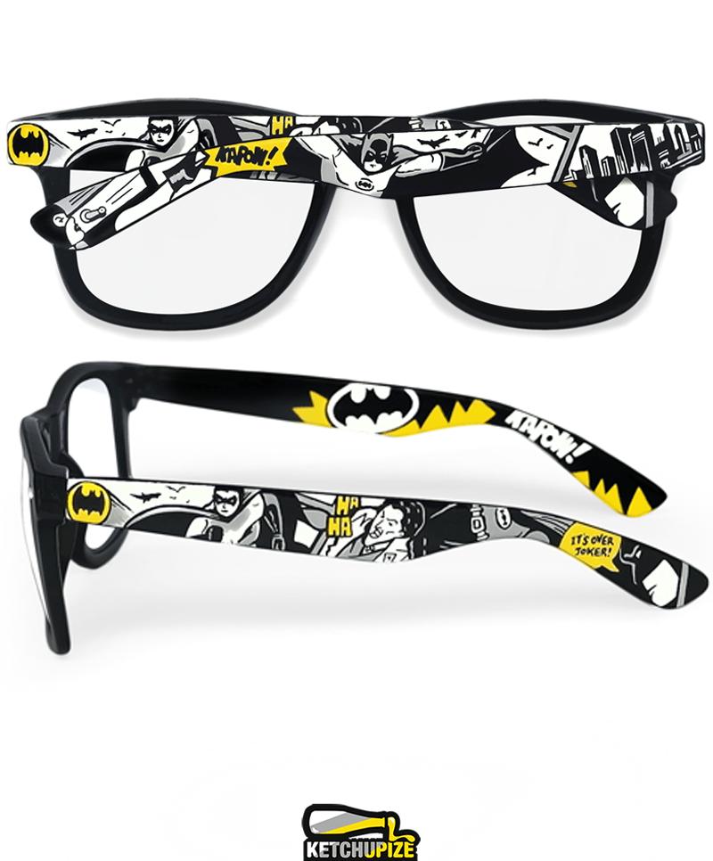Image of Custom Batman comic glasses/sunglasses by Ketchupize