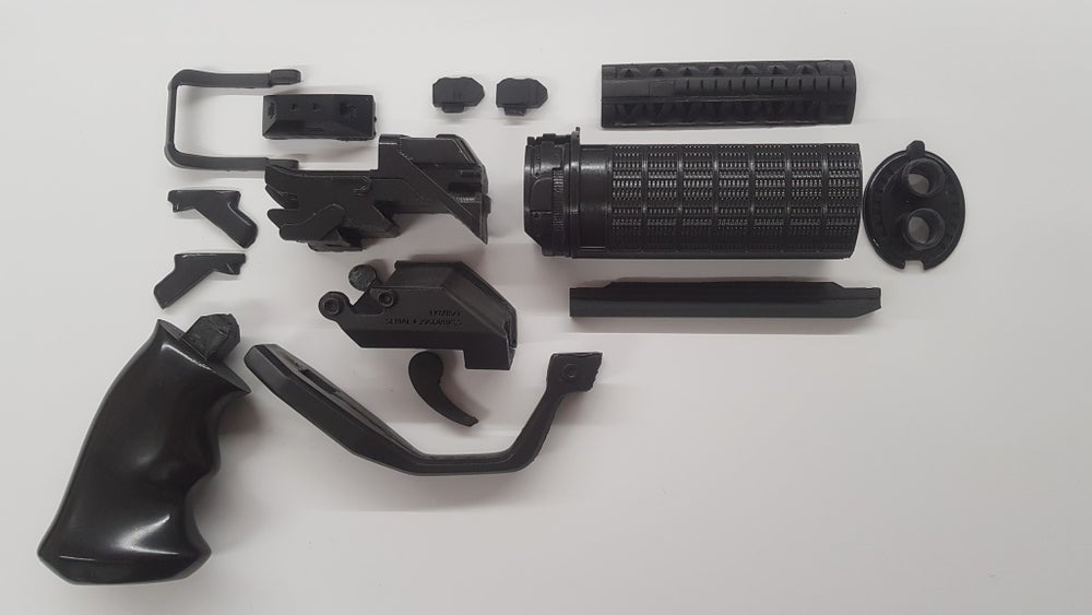 Image of Blade Runner 2049 officer K's blaster gun, DIY resin kit, Cosplay Prop
