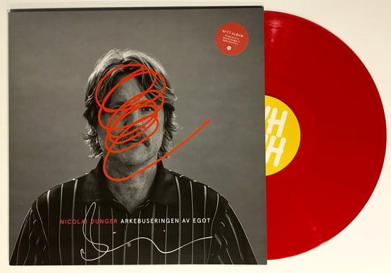 Image of Nicolai Dunger - Arkebuseringen av egot (Signed Red Vinyl)