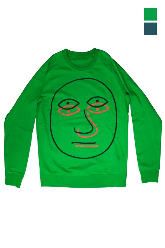 Image of THE DOUBLE FACE - SWEATSHIRT