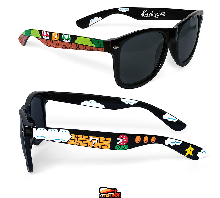 Image of Custom Mario glasses/sunglasses by Ketchupize
