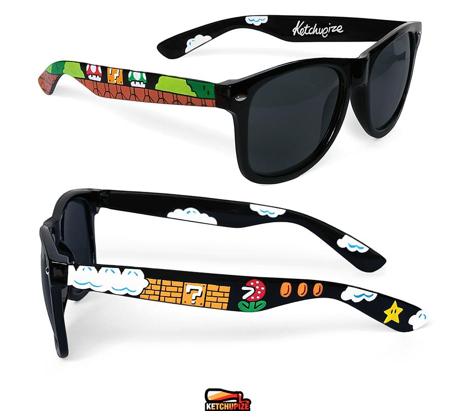 Image of Custom Mario glasses/sunglasses by Ketchupize