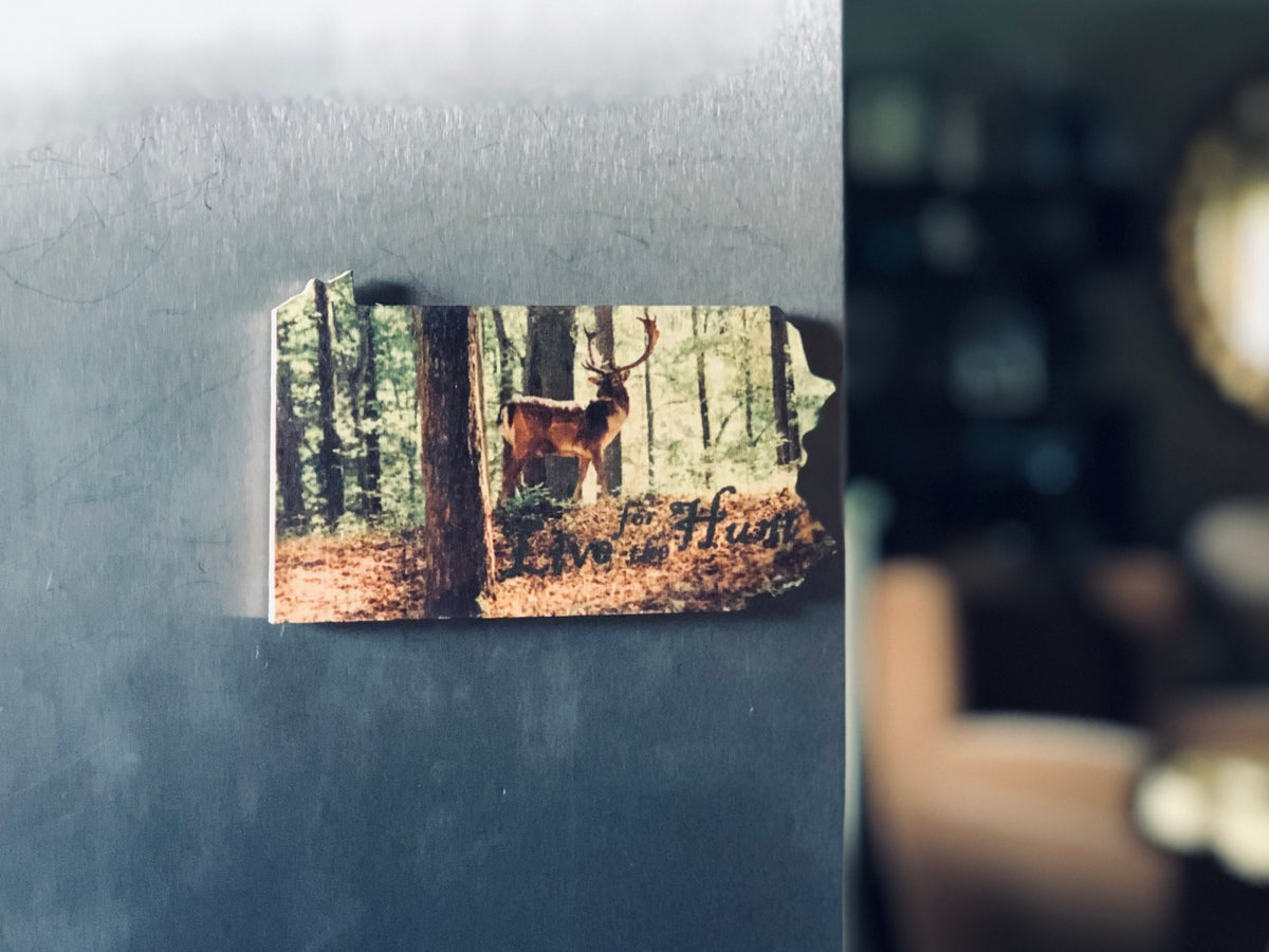 Image of PA Color Hunting Wood Magnet