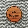 NEW Sweary Wooden Brooches