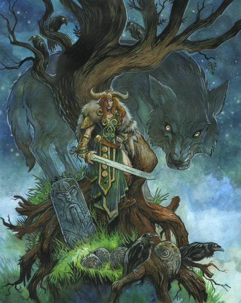 Image of The Morrigan (Art Print)