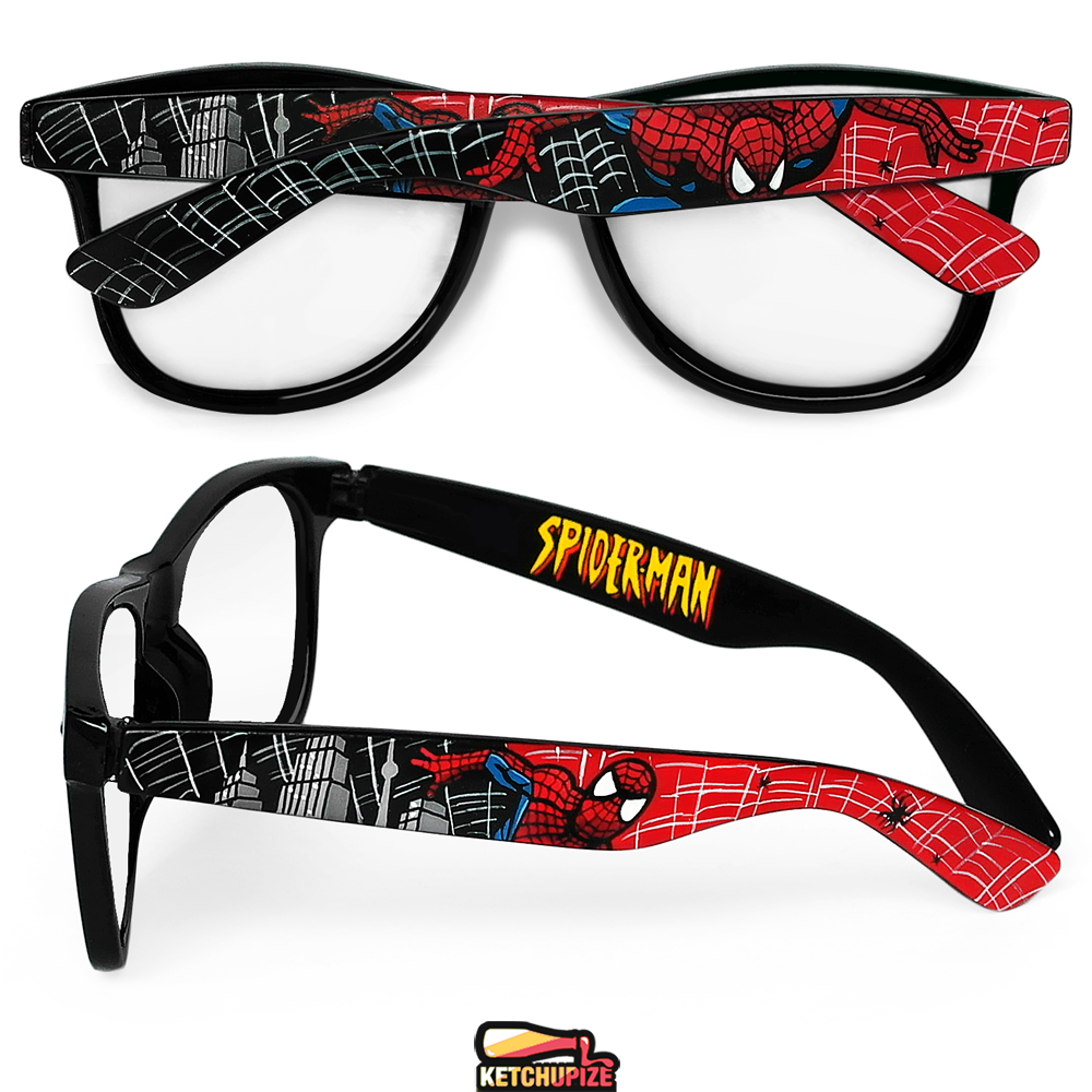 Image of Custom Spiderman glasses/sunglasses by Ketchupize