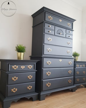 Image of Kinkaid tallboy chest of drawers