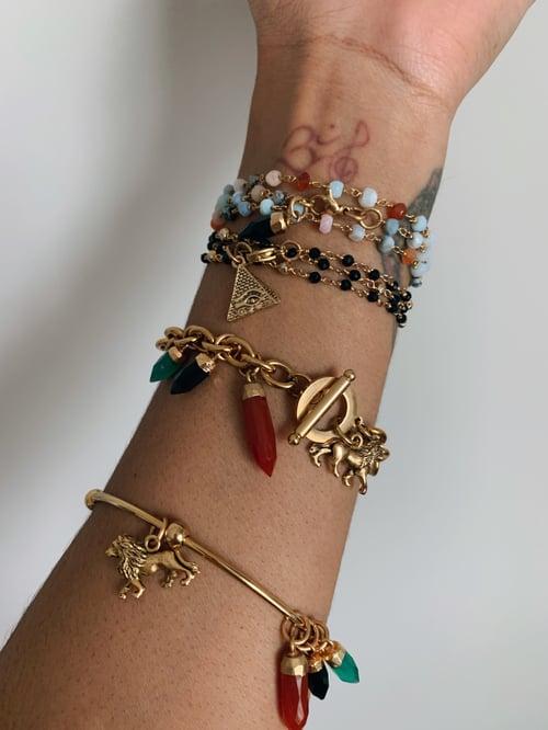 Image of CONQUERING Lion • RBG Lion Bracelet