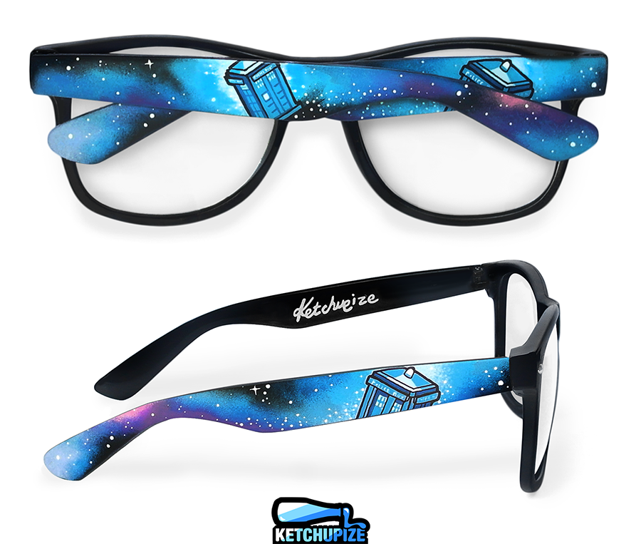 Image of Custom Doctor Who glasses/sunglasses by Ketchupize