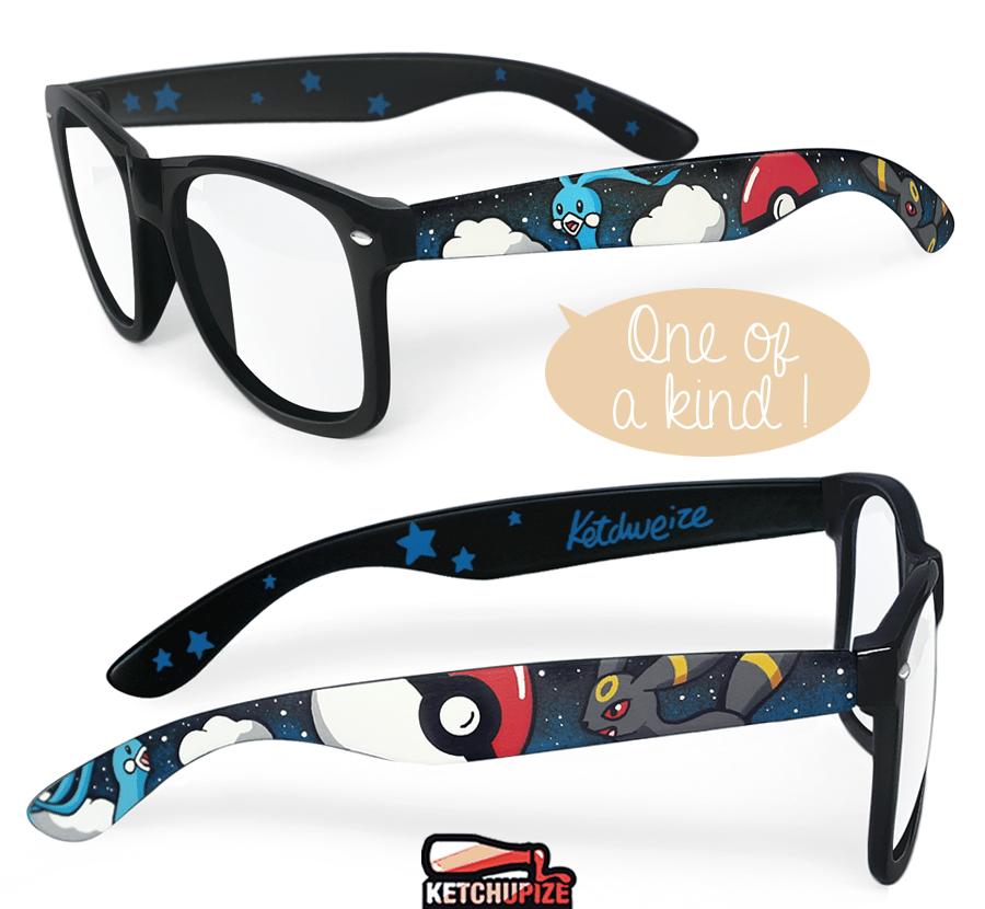 Image of Custom Pokemon Digimon glasses/sunglasses by Ketchupize