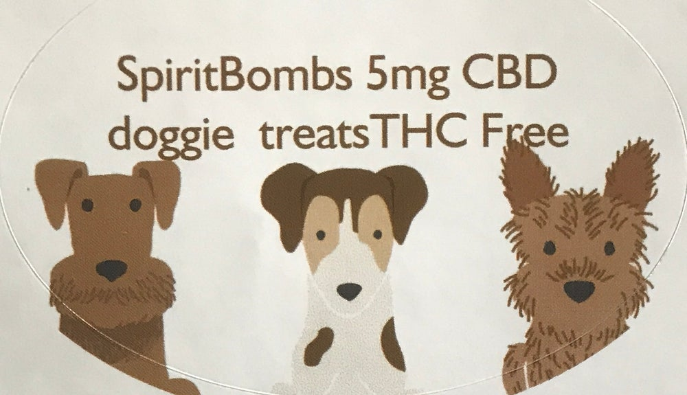 Image of CBD infused Dog treats