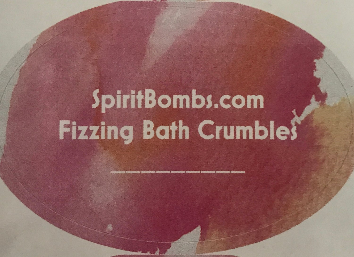 Image of Fizzing Bath Crumbles