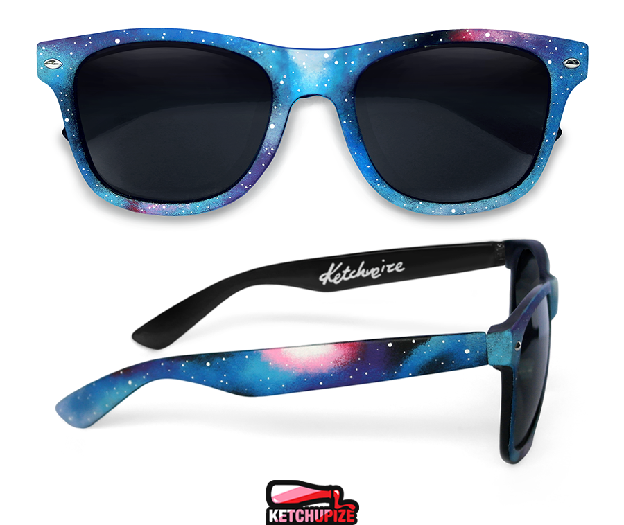 Image of Custom Galaxy glasses/sunglasses by Ketchupize