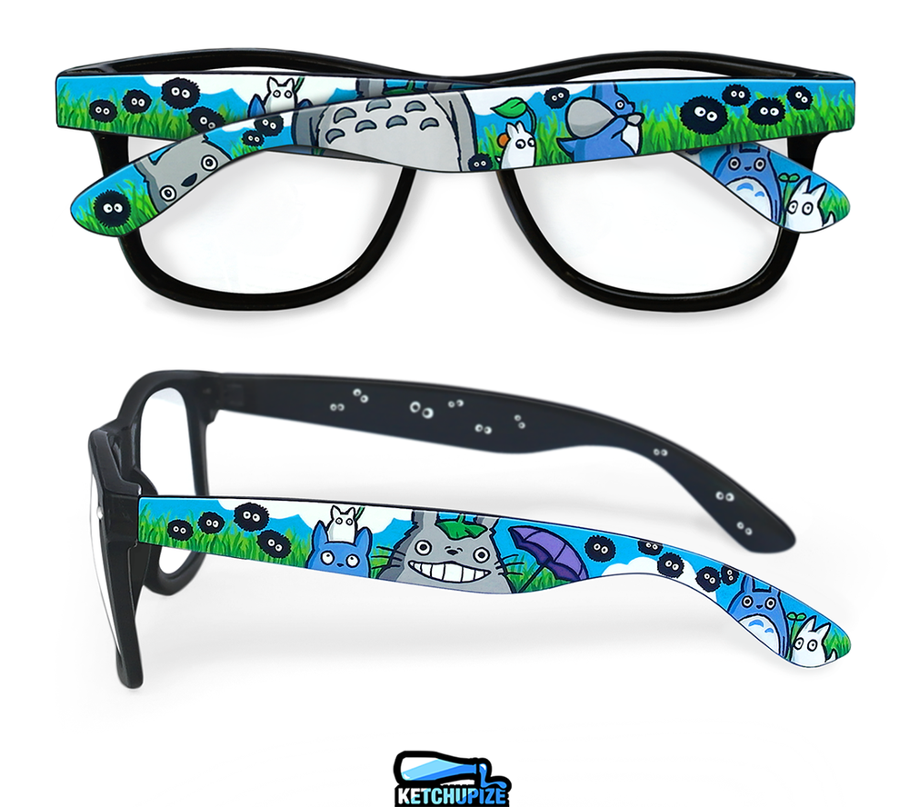 Image of Custom Totoro glasses/sunglasses by Ketchupize