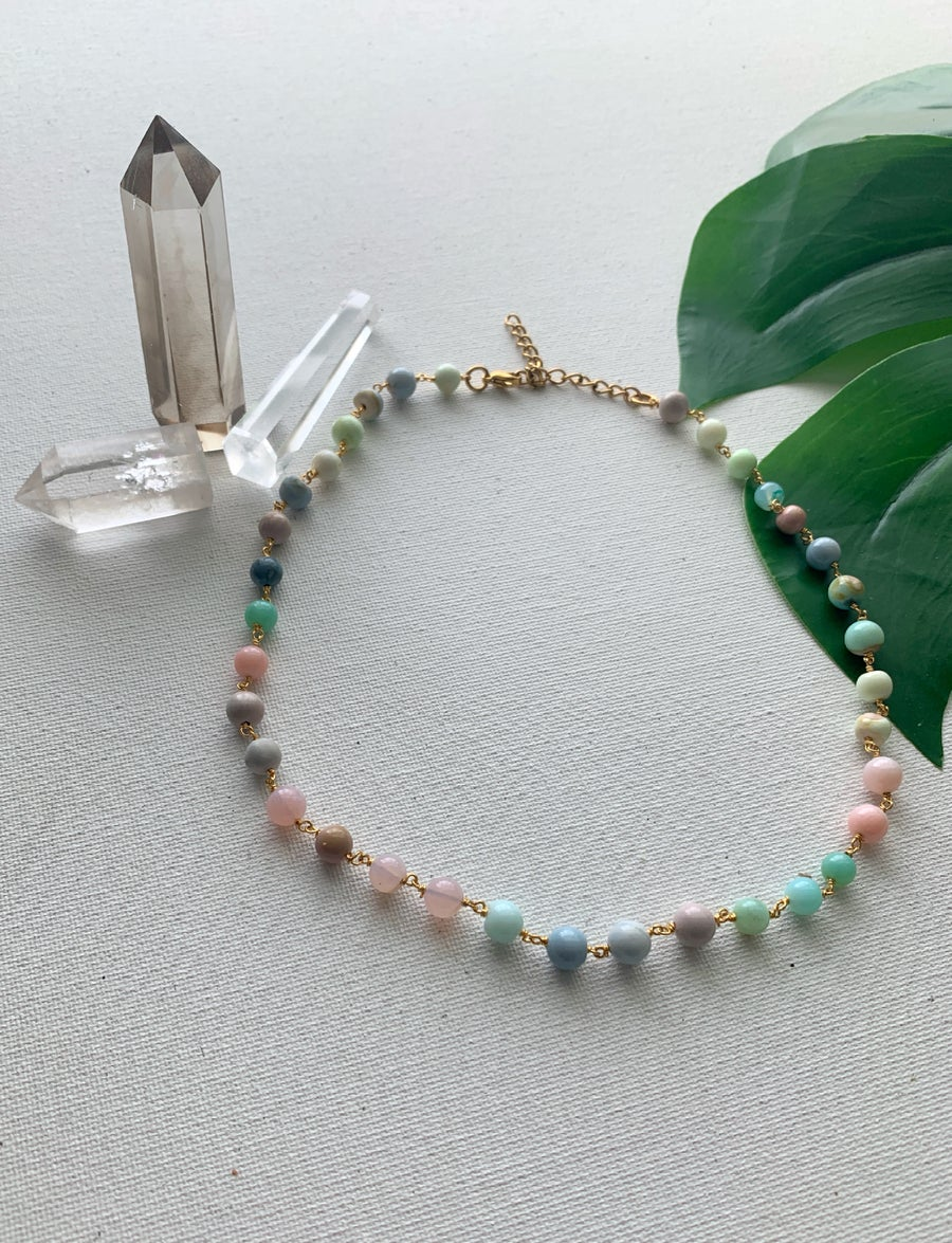 Image of POPPUP • Peruvian Opal Necklace
