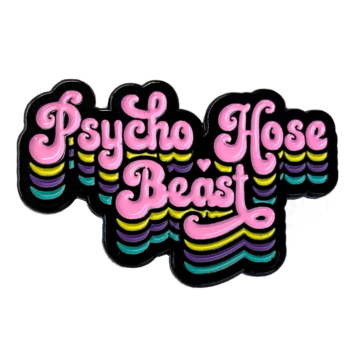 Image of Psycho Hose Beast Enamel Pin