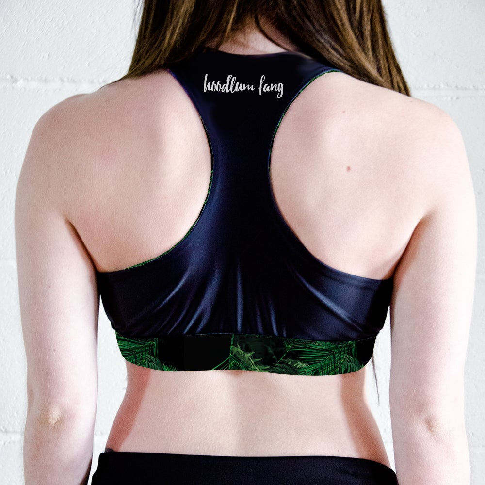 Image of Palms Racer Back Sports Crop Top