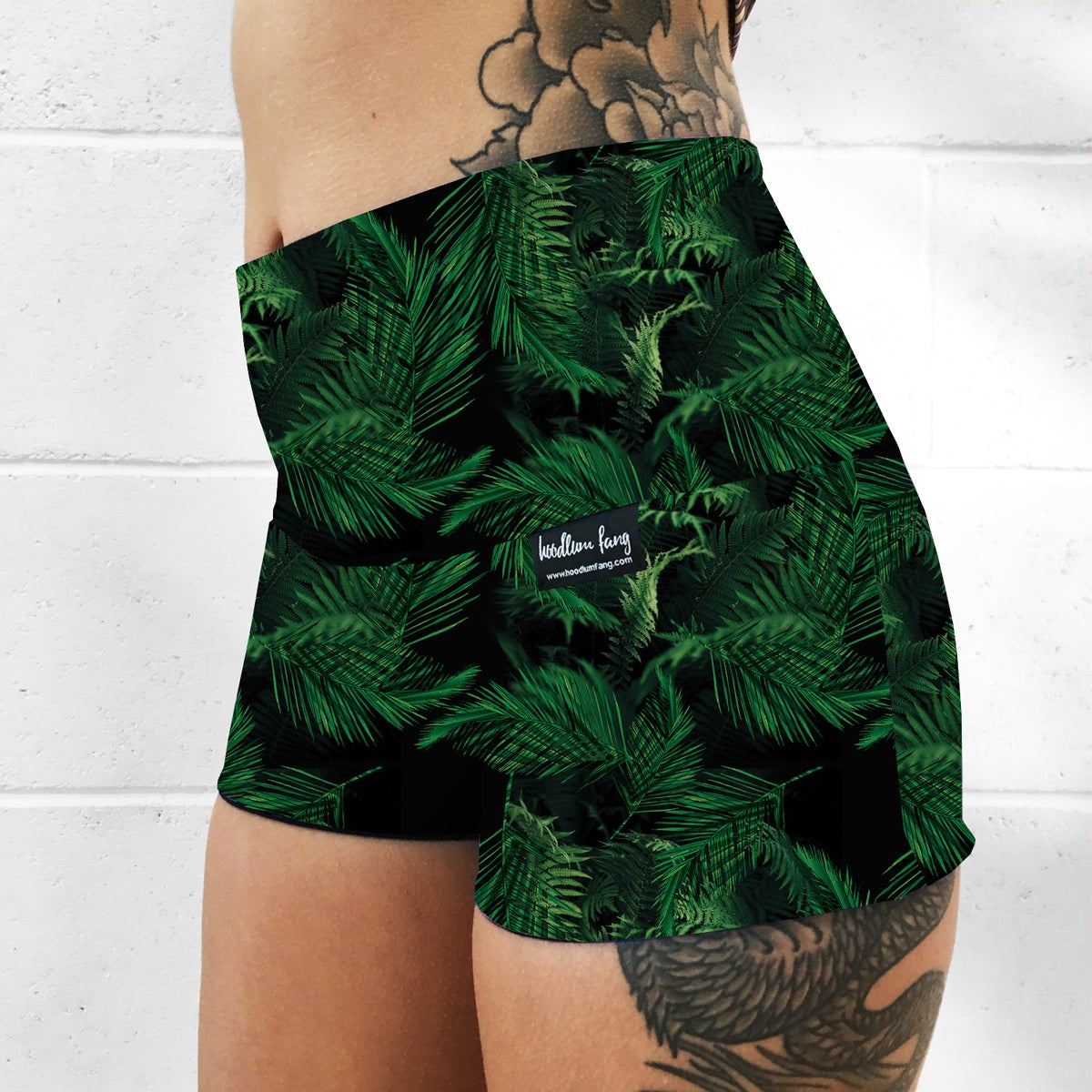 Image of Palms Fold Over Shorts