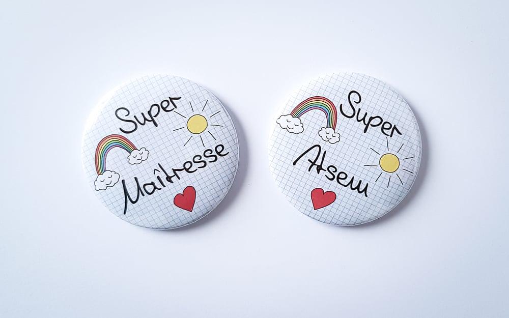 Image of MAGNETS Super Maîtresse / Super Atsem