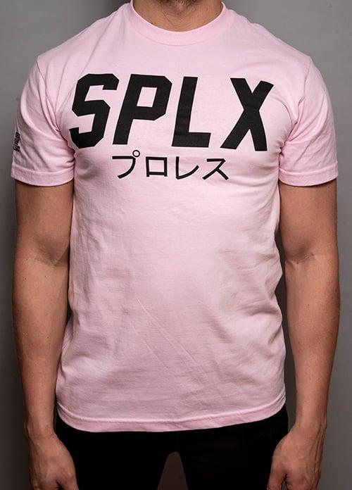 Image of Pink SPLX Logo T-Shirt