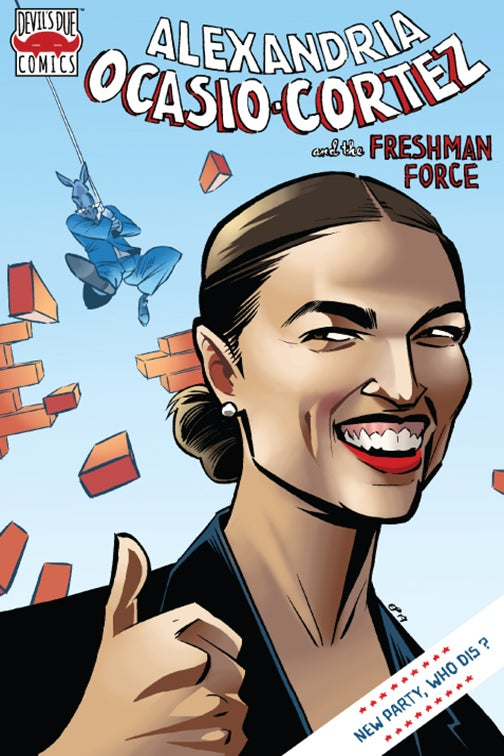 Image of Alexandria Ocasio-Cortez & the Freshman Force #1 Exclusive Variant