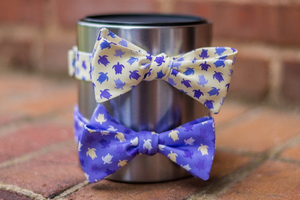 Image of Turtle Bow Ties by knotty tie company