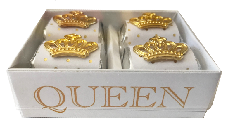 Image of Gold Crown Queen 4 Pack