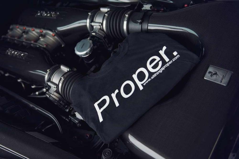 Image of Classic Proper. Tee - Black
