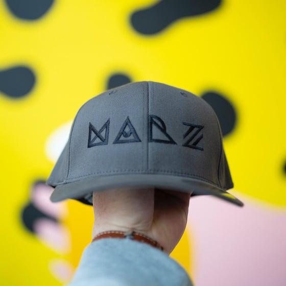 Image of Grey Flexfit Baseball Hat
