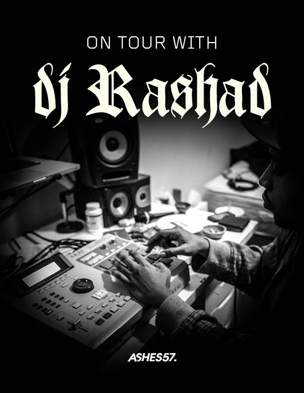 Image of ON TOUR WITH DJ RASHAD by Ashes57,