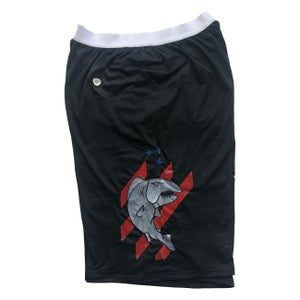 Image of New Authentic Shorts - White, Black, Turquoise