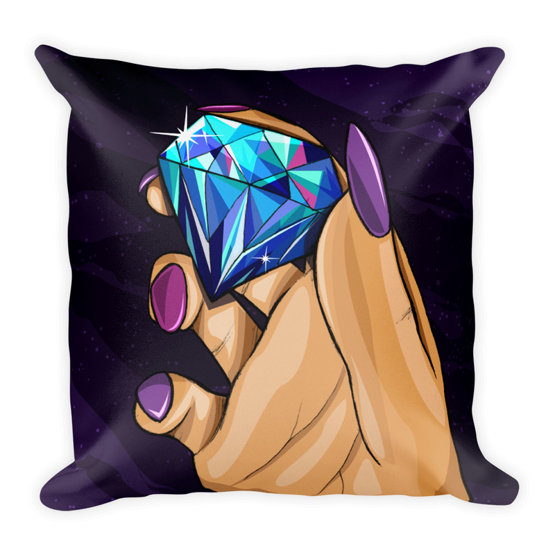 Image of DiamondNite (Throw Pillow Cover)