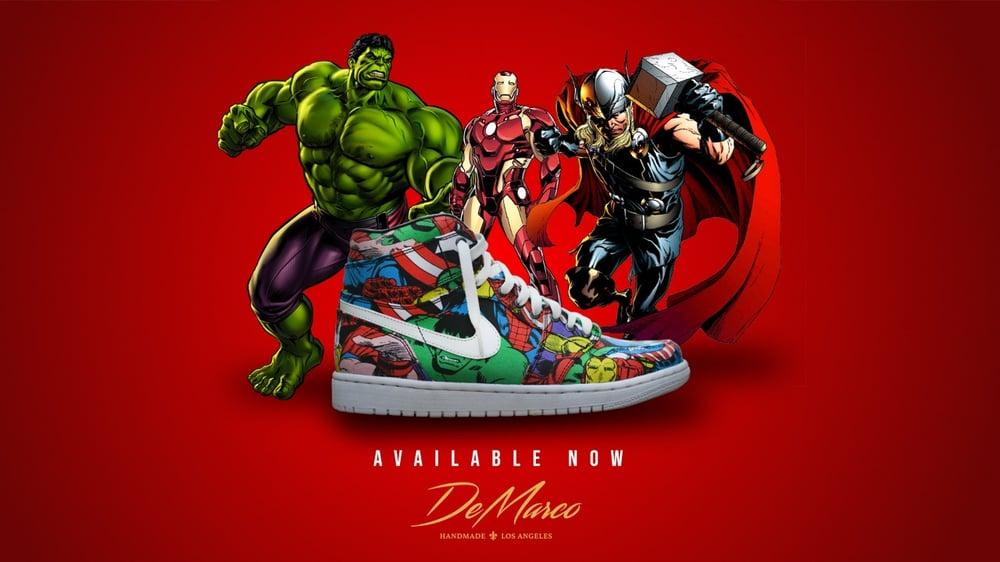 Image of Avengers Jordan 1