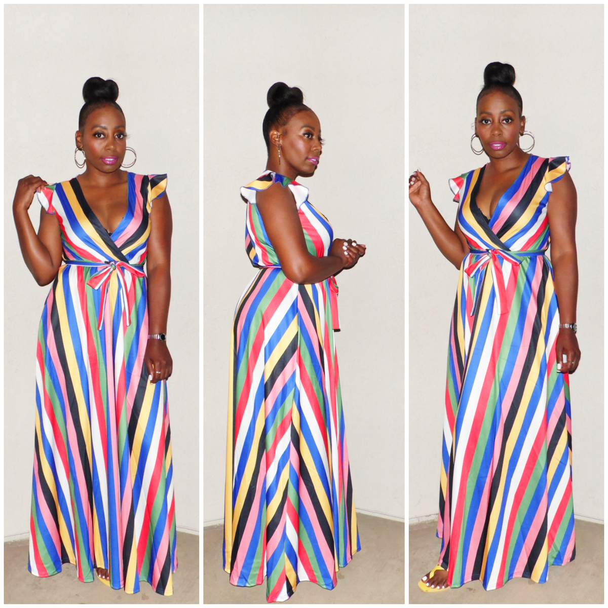 Image of PC-COLORE' MAXI DRESS