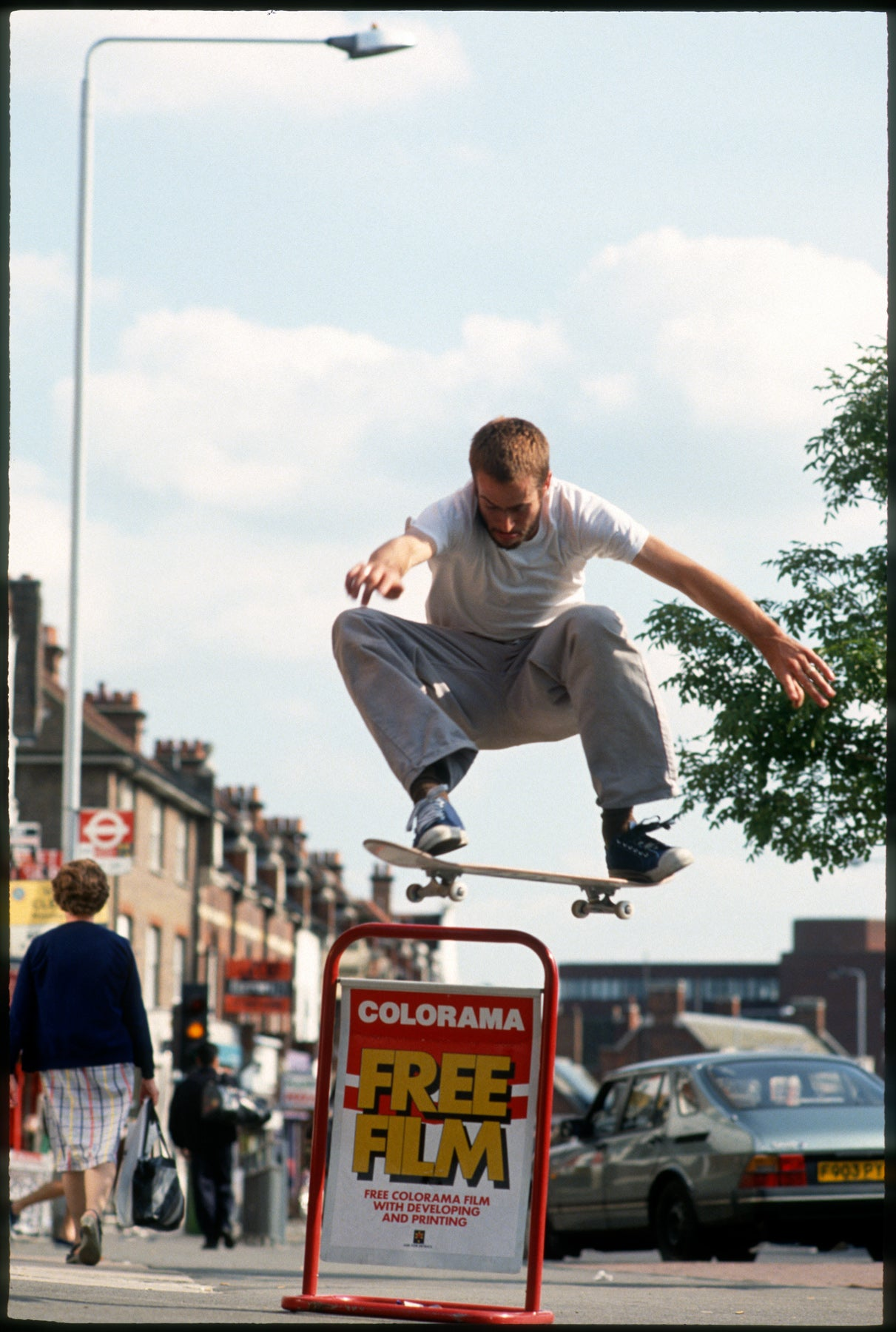 Image of Jason Lee, London 1993, Stero skateboards trip by Tobin Yelland