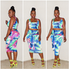 PC-WHY KNOT SKIRT SET