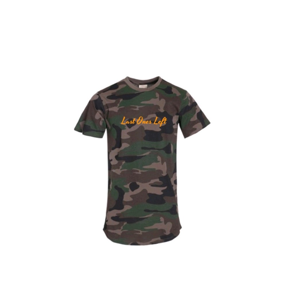 Image of Camo Extended Last Ones Left Tee