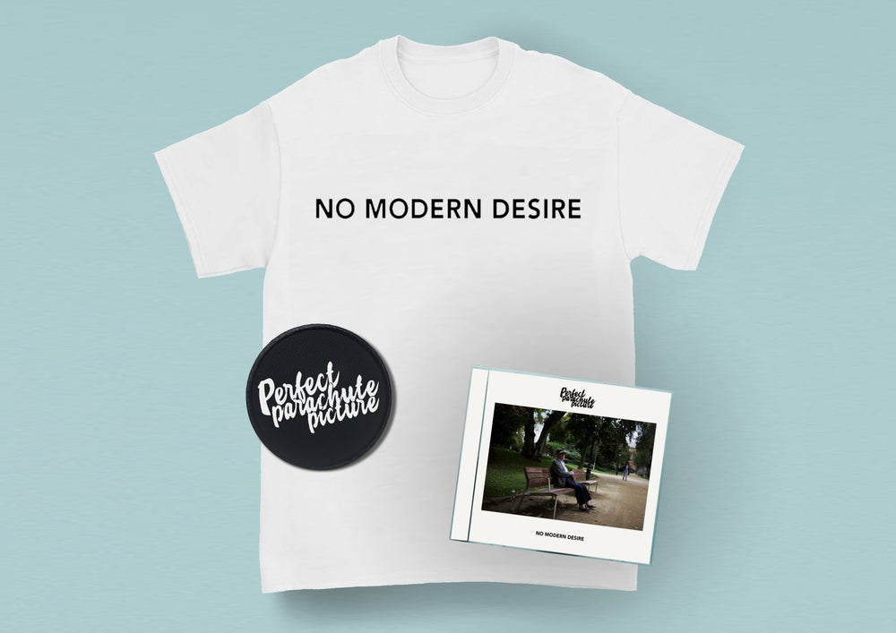 Image of No Modern Desire (CD, Patch + T-shirt)