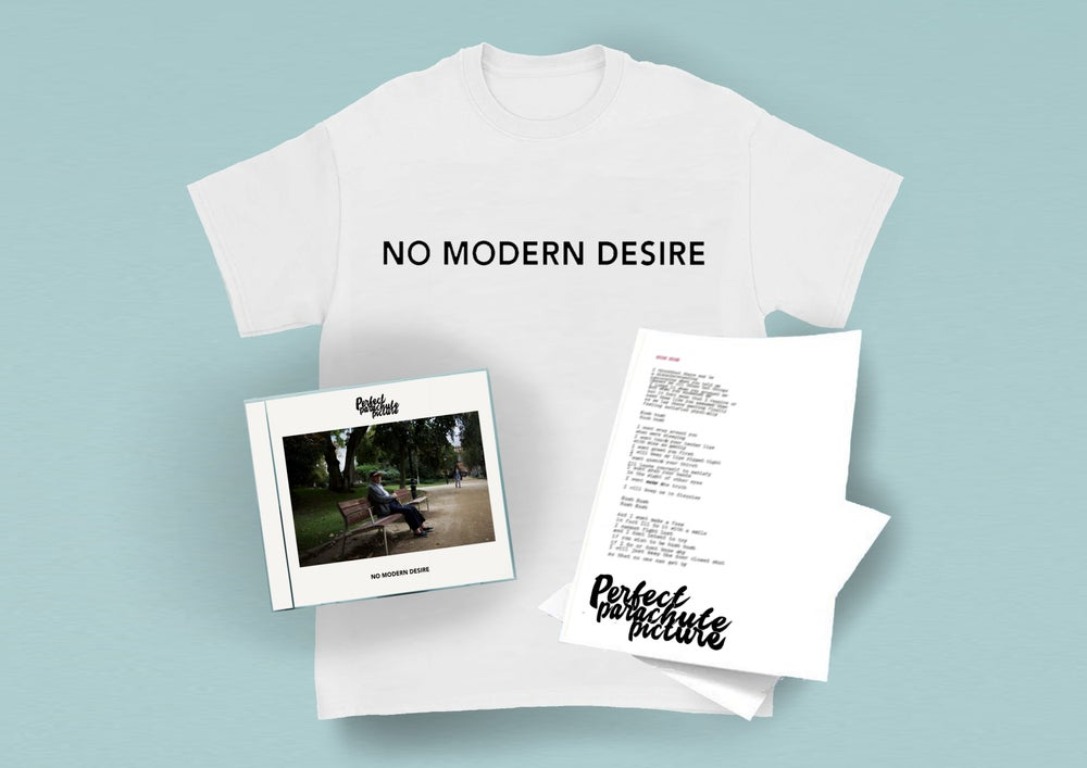 Image of No Modern Desire (CD, T-shirt + Lyric Sheet)