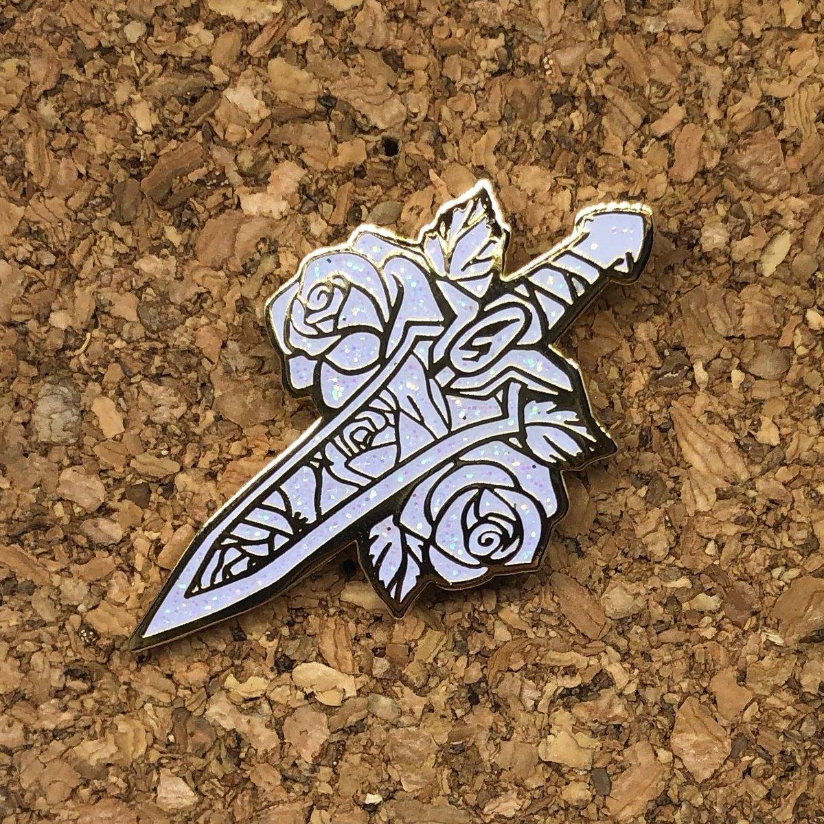 Image of Blade of Marmora Enamel Pin