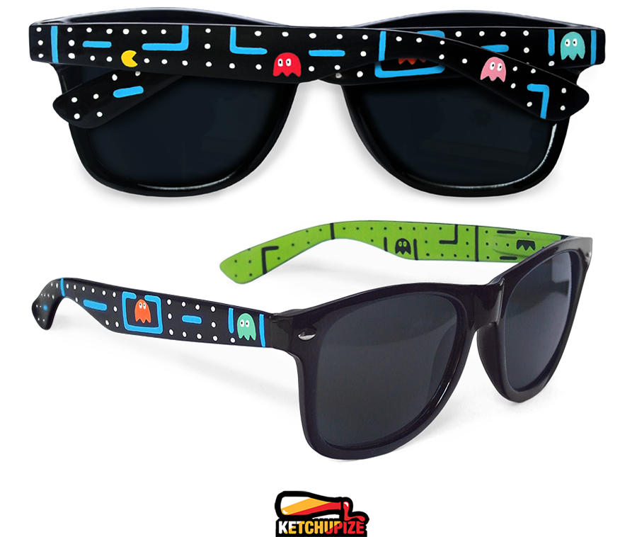 Image of Custom arcade video game glasses/sunglasses by Ketchupize