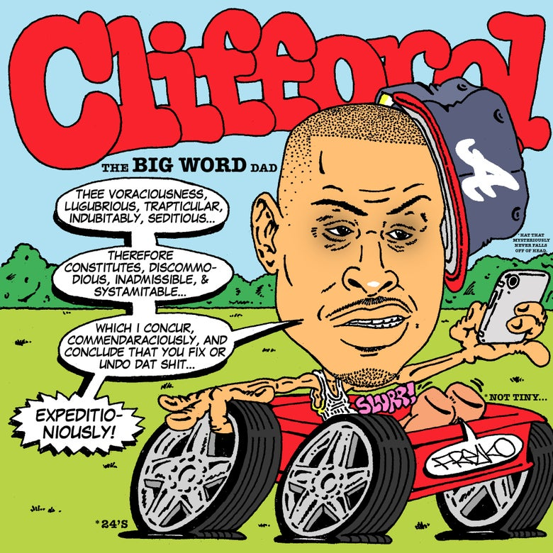 "Image of ""CLIFFORD: THE BIG WORD DAD"" PRINT"