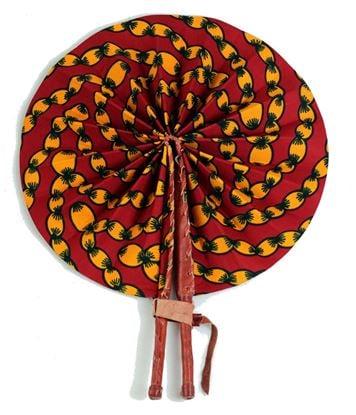 Handmade African Fans made In Ghana 🇬🇭
