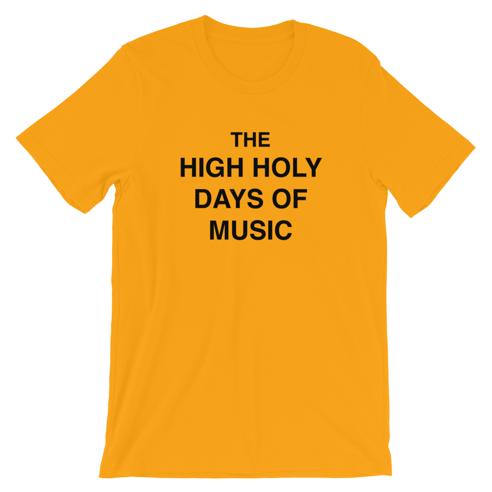 Image of High Holy Days of Music