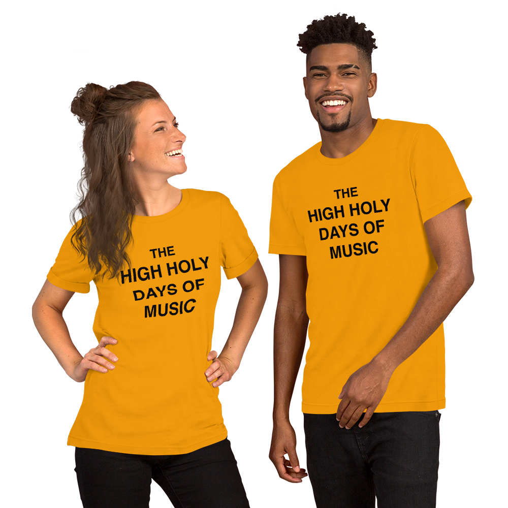 High Holy Days of Music - now also in Heather Royal